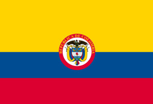 Flag Republic of Colombia