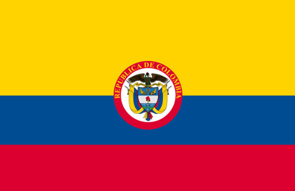 Bandera Colombia Republica