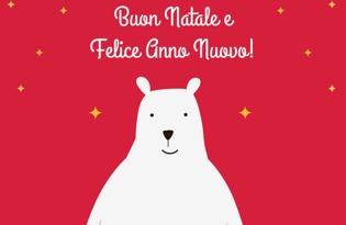 Flag Christmas bear