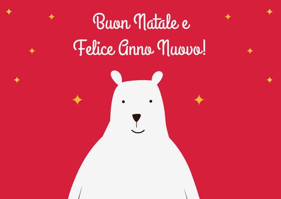 Christmas bear flag