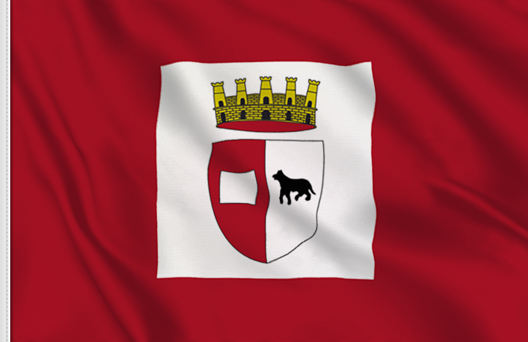 fahne Piacenza, flagge von Piacenza