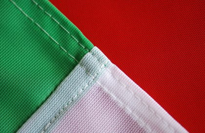 handmade tailoring flags