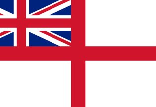 Flag Royal Navy Britannica