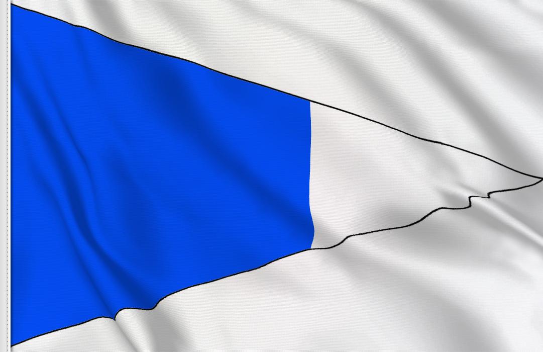 fahne Zweiter Hilfsstander, flagge Hilfsstander