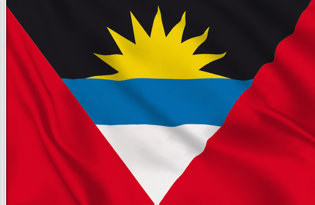 Antigua Table Flag