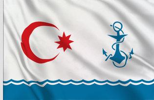 Bandera Azerbaiyan marina militar