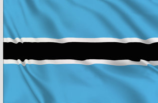 Bandera Botswana