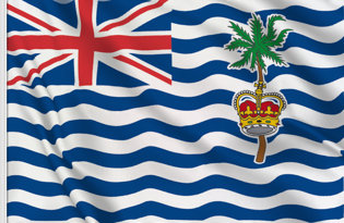 Flag British Indian Ocean