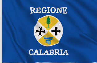 Calabria Table Flag
