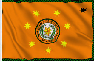 Bandera Nacion Cherokee