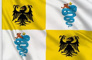 Bandera Ducado de Milan