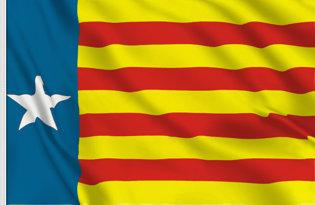 Estrelada Valenciana Table Flag