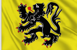 Flanders Table Flag
