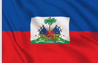 Haiti State Table Flag