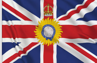 Flag British Indian Governor