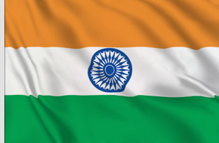 India Table Flag