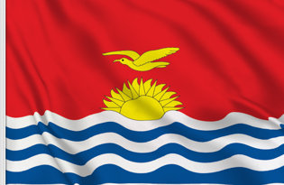 Kiribati Table Flag