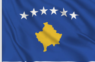 Kosovo Table Flag