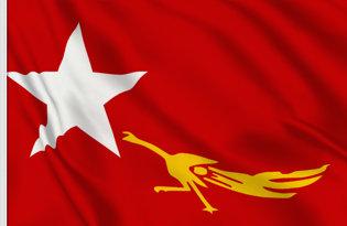 Bandera Liga Nacional para la Democracia