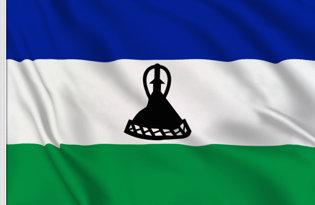 Bandera Lesoto 2006