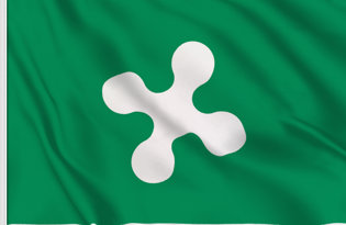Lombardy Table Flag