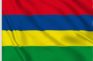 Flag Mauritius