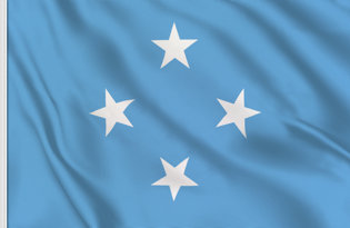 Micronesia Table Flag