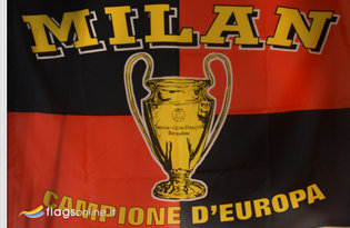 Flag Milan Historical Champion