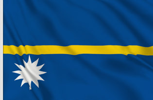 Nauru Table Flag
