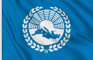 Bandera Asamblea Parlamentaria Mediterraneo
