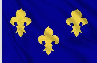 Bandera Reino de Francia