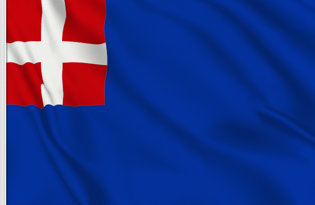 Bandera Reino de Cerdena