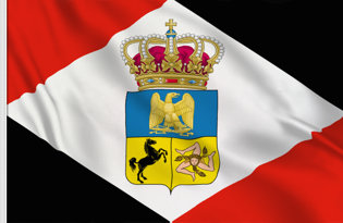 Bandera Reino Napoleonico de Napoles 1808