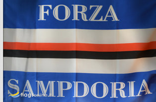 Flag Sampdoria Forza Storica