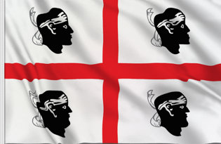 Sardinia Table Flag