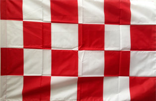 Flag red white checkered