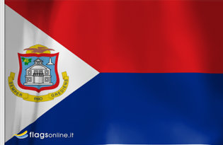 Flag Sint Maarten
