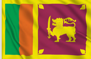 Sri Lanka Table Flag