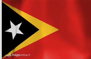 East of Timor Table Flag