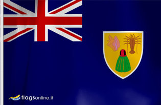 Flag Turks Caicos