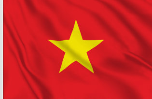 Vietnam Table Flag