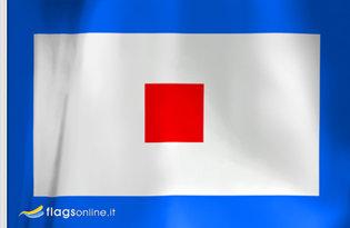 Flag Letter W