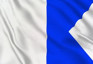 Bandera Letra A
