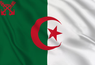 Flag Algeria Naval Ensign