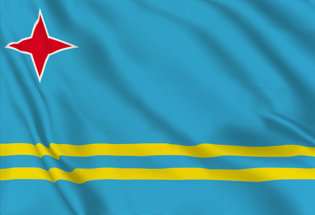 Flag Aruba