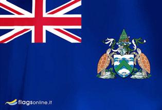 Bandera Isla de Ascension