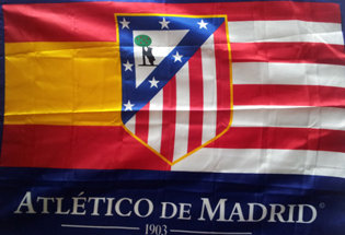 Bandera Club Atletico de Madrid
