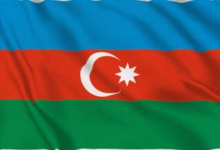 Flag Azeirbaigian