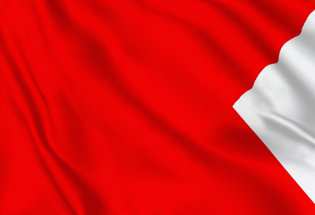 Bandera Letra B