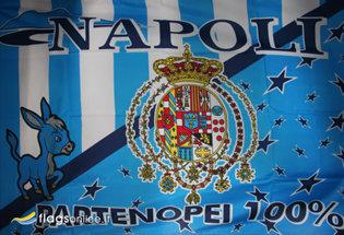 Bandera Napoli Borbonica Storica